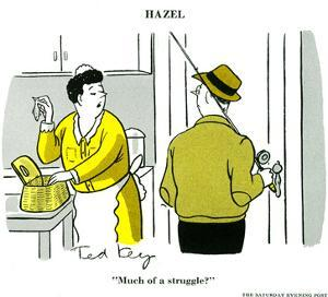 Hazel Cartoon by Ted Key