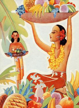 Hawaii Abundance (Makena) by Ted Mundorff