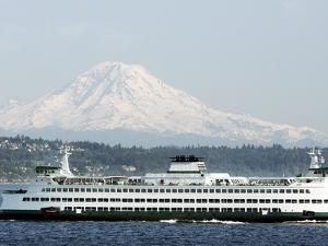 Mount Rainier by Ted S. Warren