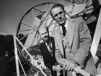 1978 Nobel Prize in Physics Winning Bell Telephone Labs Scientists Robert Wilson and Arno Penzias