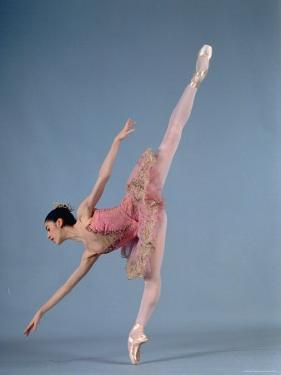 "American Ballet Theater Ballerina Paloma Herrera in Graceful Move Ballet ""Themes and Variations"" by Ted Thai"
