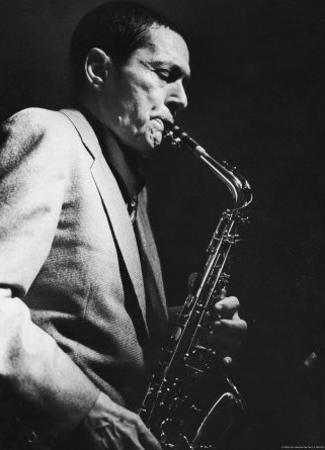 Art Pepper Performing at Fat Tuesday