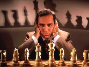 Chess Champion Gary Kasparov Training for May Rematch with Smarter Version of IBM Computer by Ted Thai