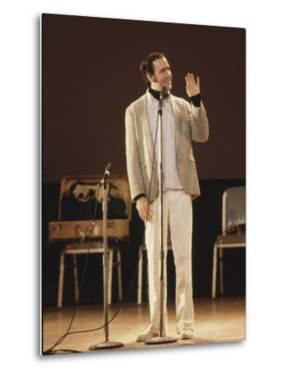 Comedian / Actor Andy Kaufman During Performance at Carnegie Hall by Ted Thai