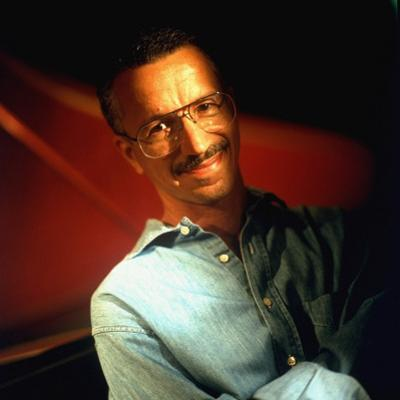 Jazz Musician Keith Jarrett at Home in Oxford, Nj