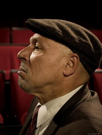 Playwright August Wilson, Photographed at the Yale Repertory Theater in New Haven, Conn
