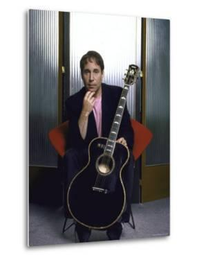 Portrait of Singer and Songwriter Paul Simon by Ted Thai
