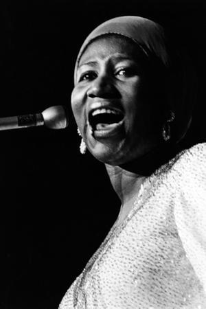 Aretha Franklin by Ted Williams
