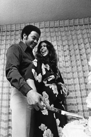 Denise Nicholas, Bill Withers, 1973