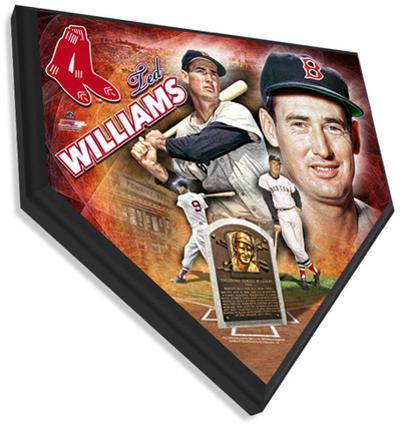 Ted Williams Home Plate Plaque
