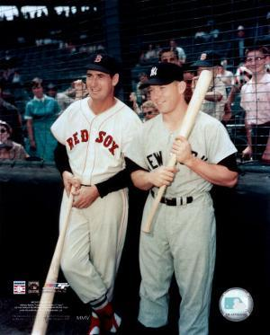 Ted Williams / Mickey Mantle
