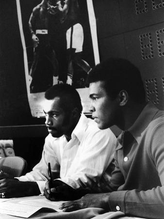 Muhammad Ali and Ken Norton, March of 1973