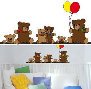 Teddy Bears 14 Wall Stickers