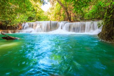 Huai Mae Khamin Waterfall by Tee Theerapol