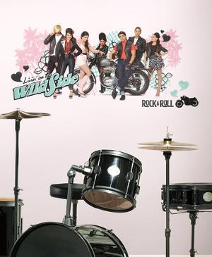 Teen Beach Movie Livin' On The Wild Side Peel and Stick Giant Wall Decals
