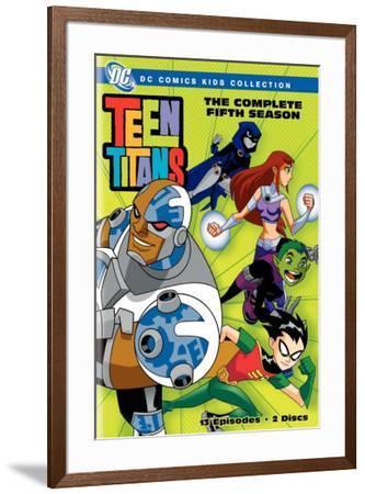 Teen Titans--Framed Poster