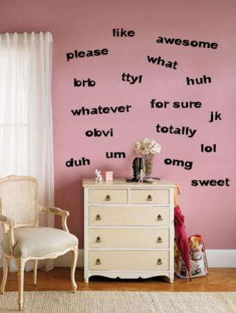 Teen Words - Girl