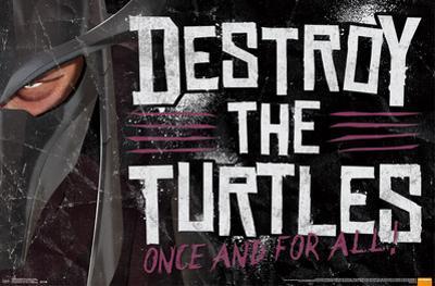 Teenage Mutant Ninja Turtles - Destroy