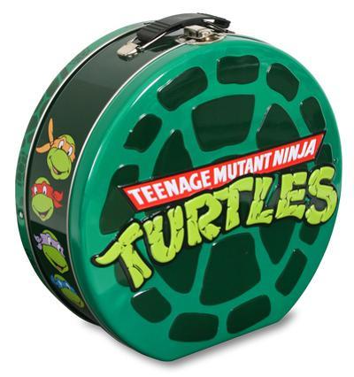 Teenage Mutant Ninja Turtles Embossed Shaped Tin Lunch Box