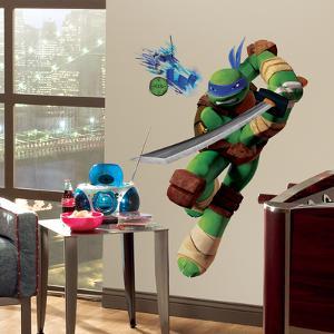 Teenage Mutant Ninja Turtles Leo Peel & Stick Giant Wall Decals
