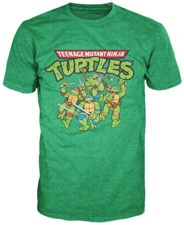 Teenage Mutant Ninja Turtles - TMNT Group. T-Shirt