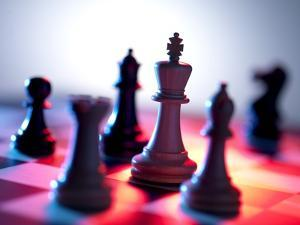 Chess Pieces by Tek Image