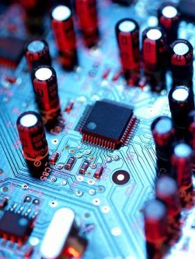 Circuit Board by Tek Image