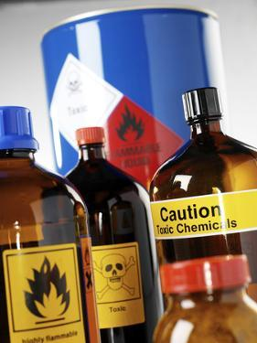 Hazardous Chemicals by Tek Image