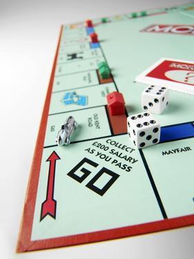 Monopoly Board Game by Tek Image