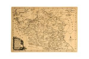 Old Map Of Poland by Tektite