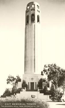 Telegraph Hill, Coit Tower, San Francisco, California
