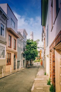 Telegraph Hill, San Francisco Street Scene, North Beach