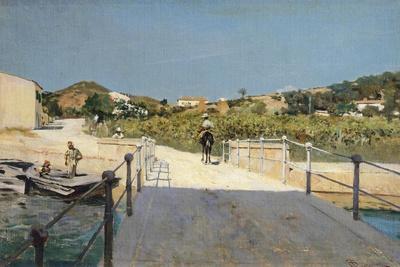 Bridge to Island of Elba, 1888