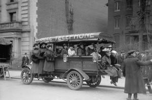 Telephone Company Transports Phone Operators To Its Own Offices During Strike