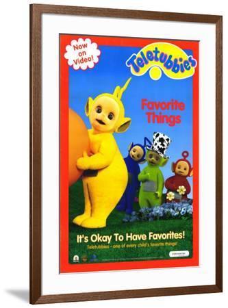 Teletubbies: Favorite Things--Framed Poster