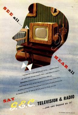 Televisions Gec Marconi, UK, 1940