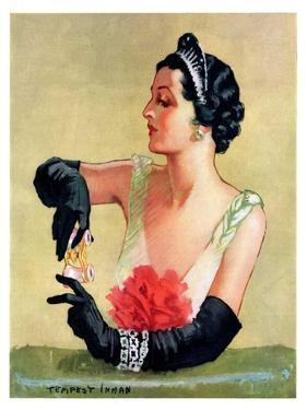 """""""At the Opera,""""December 9, 1933 by Tempest Inman"""