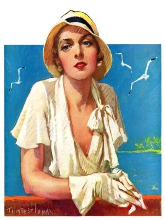"""""""Woman in White,""""June 18, 1932"""