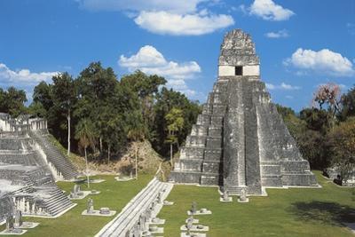 Temple I or Temple of Jaguar, Archaeological Site of Tikal, Tikal National Park
