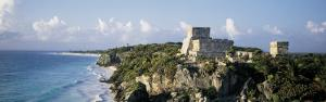Temple of Descending God, El Castillo, Tulum, Mexico