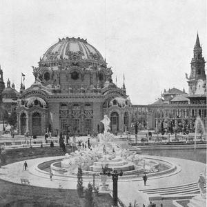 Temple of Music at the Pan-American Exhibition at Buffalo, 1901