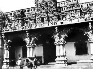 Temple, Singapore, 1900