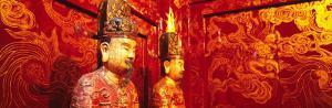 Temple Statues, Hoa Lu, Vietnam
