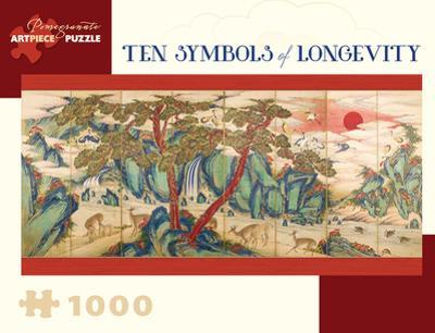 Ten Symbols Of Longevity 1000 Piece Puzzle