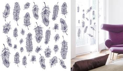 Tender Feathers Window Sticker Decal