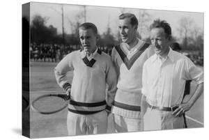 Tennis Champions Vincent Richards, Bill Tilden, and Bill Johnston in the 1920s