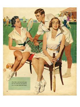 Tennis, Maudson, 1953, UK