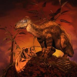 Tenontosaurus Was an Ornithopod Dinosaur from the Middle Cretaceous Period