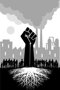 Roots Fist by Teofilo Olivieri