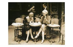 Terasse De Cafe 1924